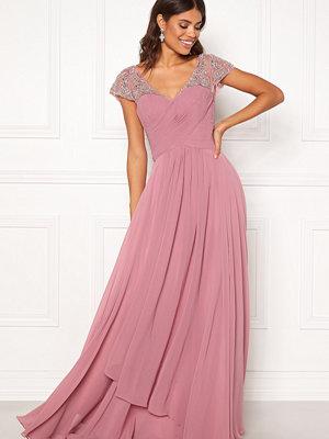 Susanna Rivieri Sweetheart Chiffon Dress Rose