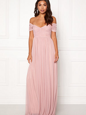 Moments New York Lily Draped Gown Dusty pink