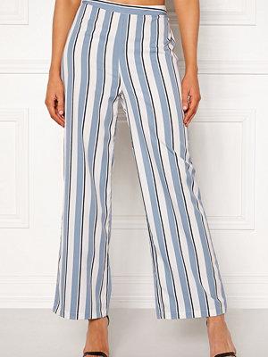 Chiara Forthi randiga byxor Suzette Straight Pants Striped / Offwhite / Blue