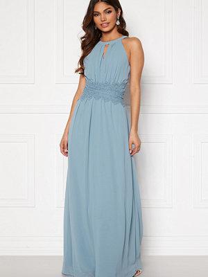 Vila Milina Maxi Dress Ashley Blue
