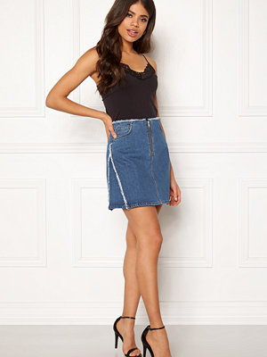 Dagmar Fiona Skirt Washed Denim