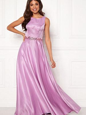 Susanna Rivieri Ceremonial Satin Dress Violet