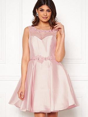 Susanna Rivieri Embroidered Dream Dress Blush