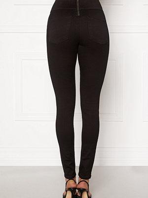 Leggings & tights - Pieces Highwaist Soft Jeggings Black