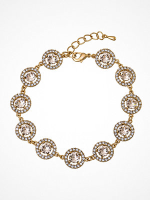 Lily and Rose armband Miranda Bracelet Light Silk/gold