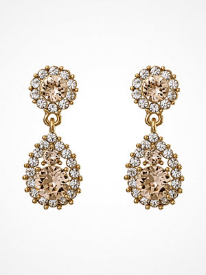 Lily and Rose örhängen Sofia Earrings Light Silk/Gold/pink