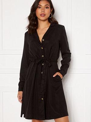 Object Collectors Item Tilda L/S Button Dress Black