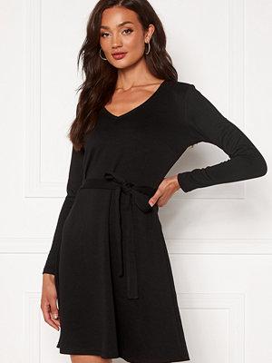 Object Collectors Item Sava L/S V-Neck Dress Black