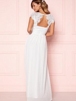 Festklänningar - Chiara Forthi Amante Lace Gown White