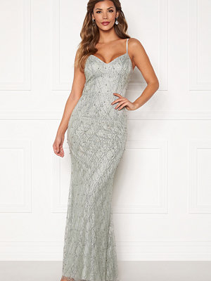 Chiara Forthi Diamond gown Silver grey