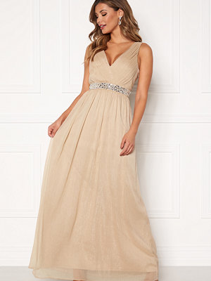 Chiara Forthi Madelaide Sparkling Gown Champagne