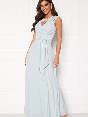 Chiara Forthi Genevra Gown Dusty blue