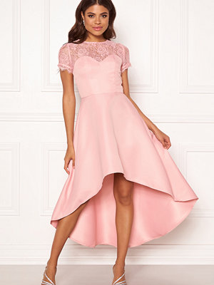 Chi Chi London Molly High Low Dress Mink