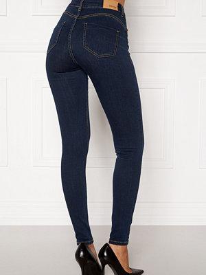Bubbleroom Miranda Push-up jeans Midnight blue