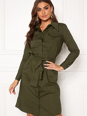 co'couture Coriolis Uniform Dress New Army