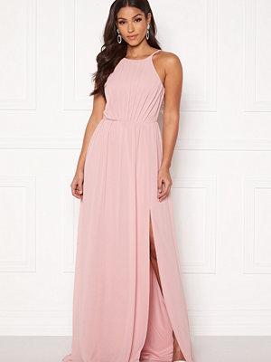 Bubbleroom Vania maxi dress Dusty pink