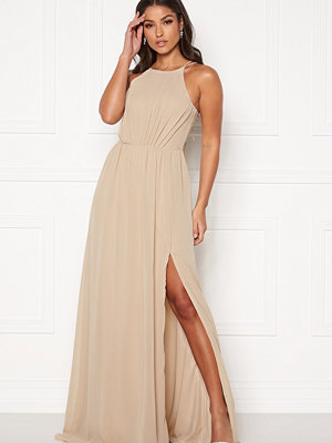 Bubbleroom Vania maxi dress Champagne