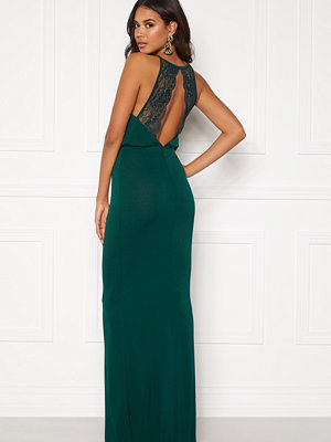 Bubbleroom Edina prom dress Dark green