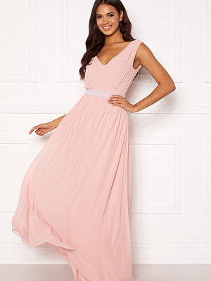 Bubbleroom Candance pearl prom dress Dusty pink