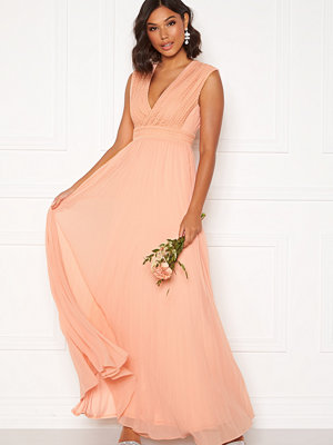 Moments New York Loana Crochet Gown Light pink