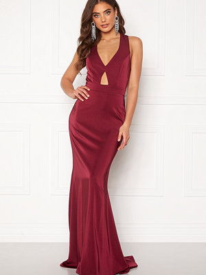 Bubbleroom Fidoli prom dress Wine-red