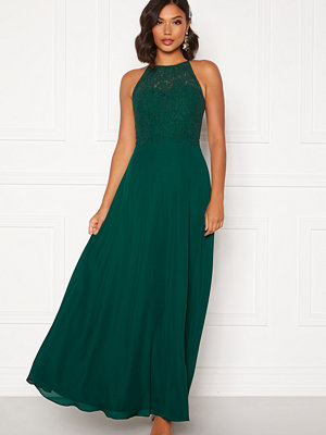 Moments New York Evelyn Lace Gown Dark green