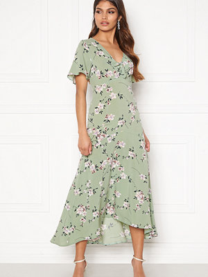 Happy Holly Therese dress Dusty green / Floral
