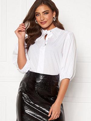 co'couture Briela Frill Spring Shirt White