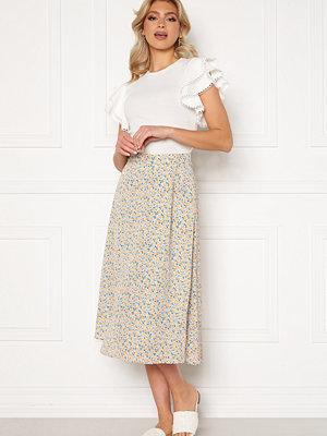 Y.a.s Kaydel Hw Long Skirt Cornflower Blue/ AOP
