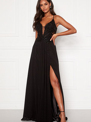 Christian Koehlert Embellished Prom Dress Phantom Black