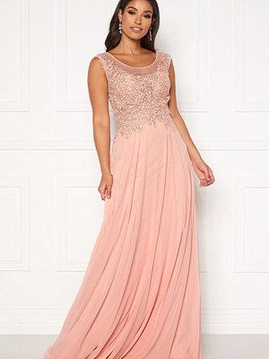 Susanna Rivieri Dream Chiffon Dress Blush