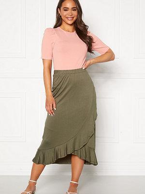 Jacqueline de Yong Fantorini Wrap Skirt Kalamata