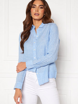 Gant The Linen Chambray Shirt 445 Pacific Blue