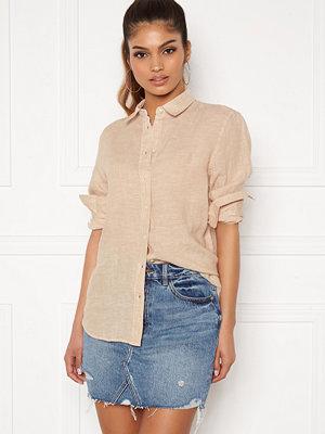 Gant The Linen Chambray Shirt 277 Dry Sand