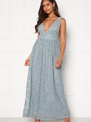 Y.a.s Cheshire SL Maxi Dress Blue Heaven