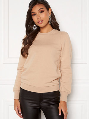 Happy Holly Veronica puff top Light beige