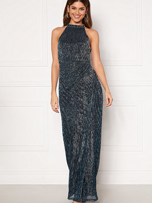 Moments New York Alice Lurex Gown Blue