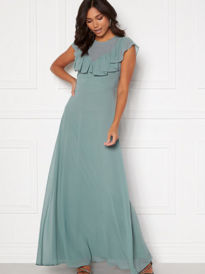 Moments New York Lea Frill Gown Green