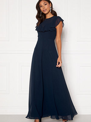 Moments New York Lea Frill Gown Navy