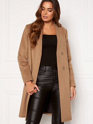 Selected Femme Mella Wool Coat Tigers Eye