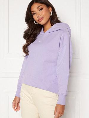 Calvin Klein Jeans Micro Branding Hoodie V0K Palma Lilac