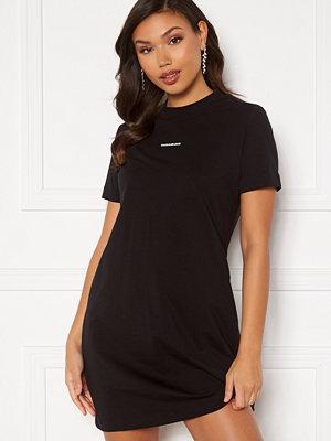 Calvin Klein Jeans Branding T-Shirt Dress BEH Ck Black