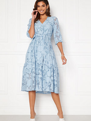Selected Femme Sadie 3/4 Midi Dress Cashmere Blue