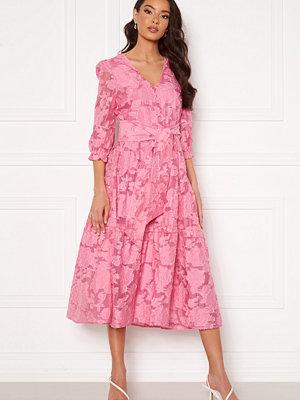 Selected Femme Sadie 3/4 Midi Dress Rosebloom