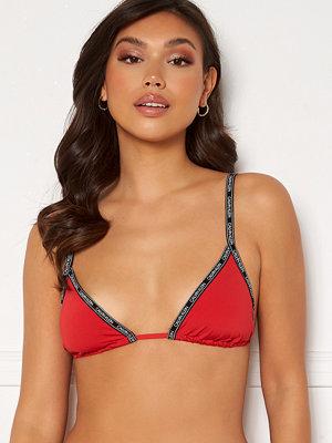 Calvin Klein Triangle Bikini Top XMK Rustic Red