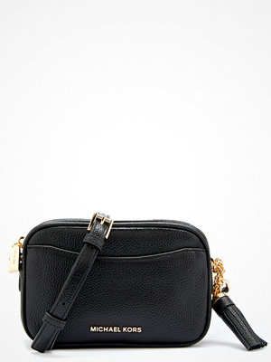 MICHAEL Michael Kors svart axelväska Belt/Shoulder Bag Black