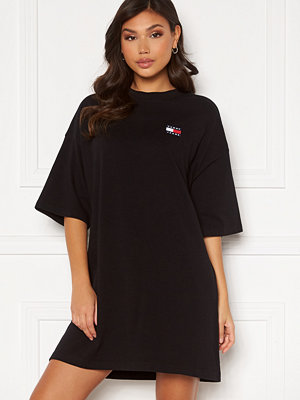 Tommy Jeans Oversized Badge Tee Dress BDS Black