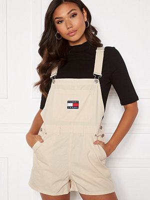 Jumpsuits & playsuits - Tommy Jeans Dungaree Shorts AA8 Sugarcane