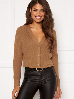 Only Laysla Life L/S Cardigan Toasted Coconut