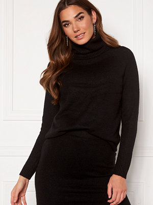 Only Cille L/S Rollneck Pullover Black
